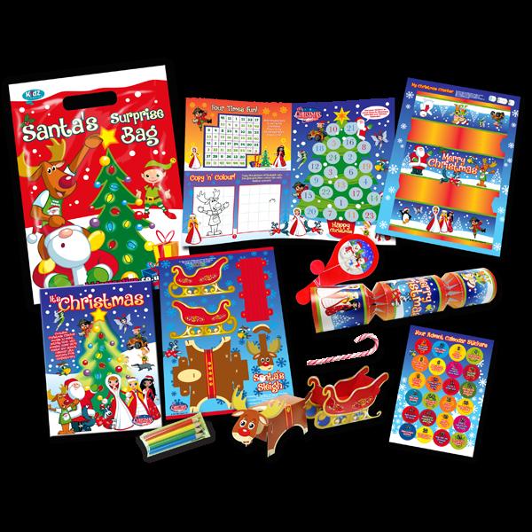 Christmas Theme Surprise Party Bag [Single Bag]
