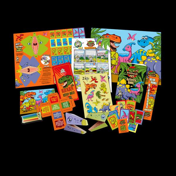 Mega Dinosaur Theme Activity Pack [Single Pack]