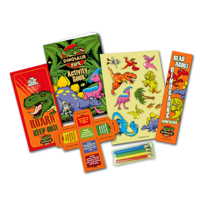 Mini Dinosaur Theme Activity Pack [Box of 10]