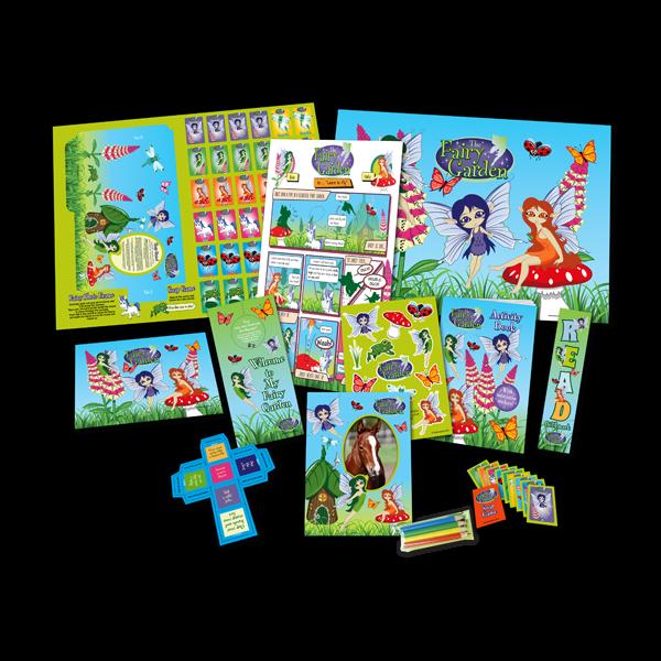 Mega Fairy Theme Activity Pack [Single Pack]