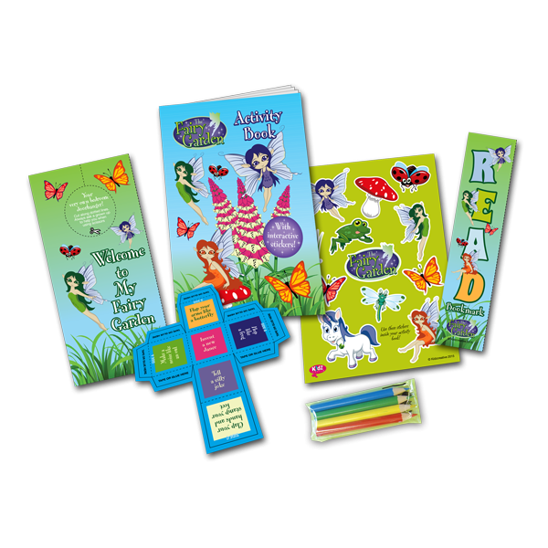 Mini Fairy Theme Activity Pack [Single Pack]