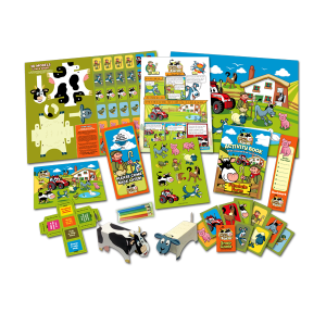 Mega Farm Theme Activity Pack [Box of 10]