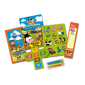 Mini Farm Theme Activity Pack [Box of 10]