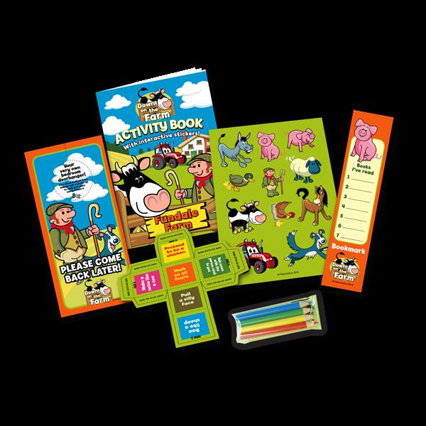 Mini Farm Theme Activity Pack [Box of 10]