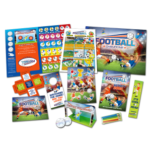Mega Football Theme Activity Pack [Box of 10]