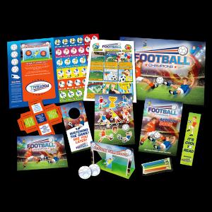 Mega Football Theme Activity Pack [Box of 40]