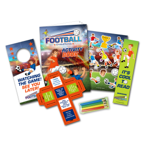 Mini Football Theme Activity Pack [Box of 10]
