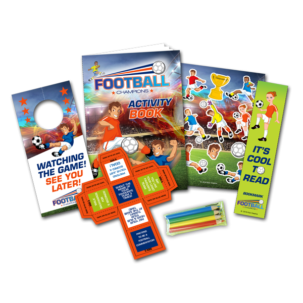Mini Football Theme Activity Pack [Box of 80]