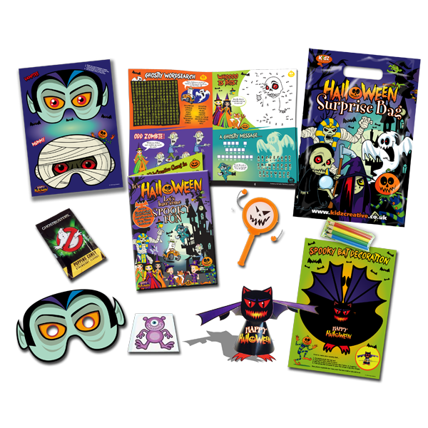 Halloween Theme Surprise Party Bag [Box of 10]