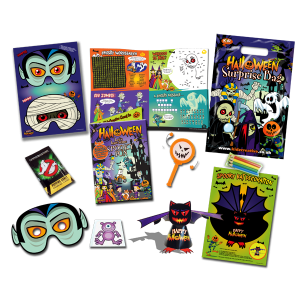 Halloween Theme Surprise Party Bag [Single Bag]