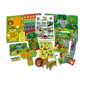 Mega Jungle Theme Activity Pack [Box of 10]