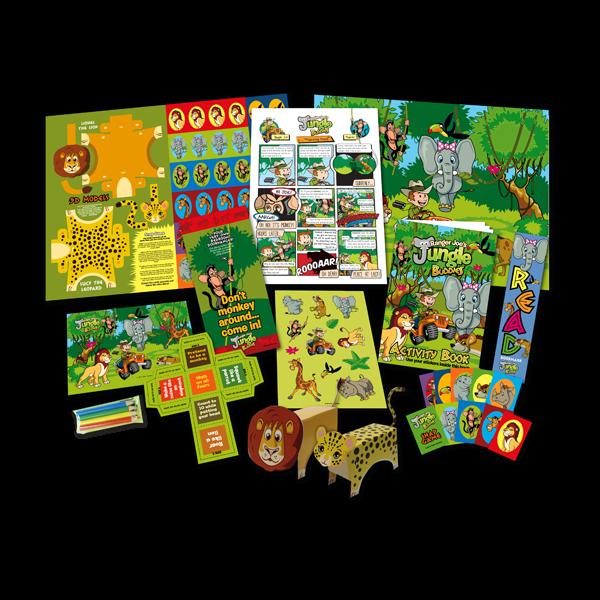 Mega Jungle Theme Activity Pack [Single Pack]