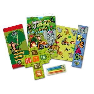 Mini Jungle Theme Activity Pack [Box of 10]
