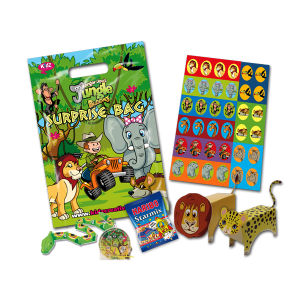 Jungle Theme Surprise Party Bag [Box of 10]