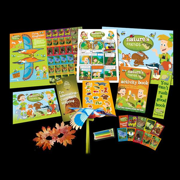 Mega Nature Theme Activity Pack [Single Pack]