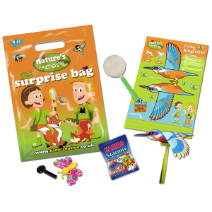 Natures Friends Theme Surprise Party Bag [Box of 10]