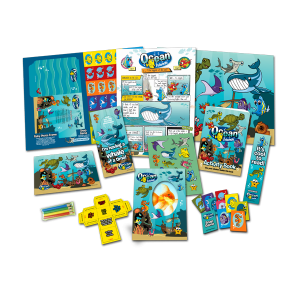 Mega Ocean Theme Activity Pack [Box of 10]