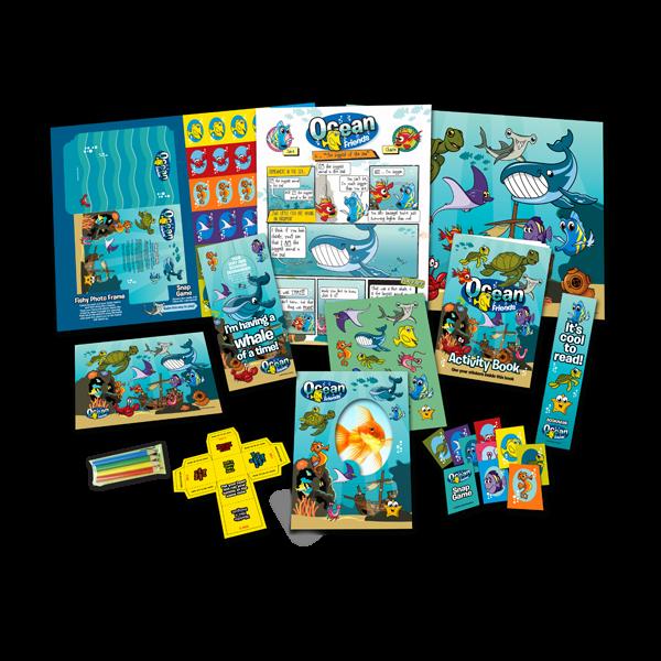 Mega Ocean Theme Activity Pack [Box of 10]