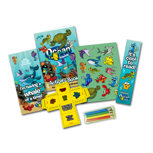 Mini Ocean Theme Activity Pack [Single Pack]