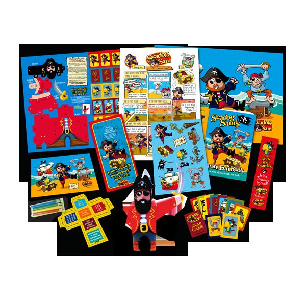 Mega Pirate Theme Activity Pack [Single Pack]