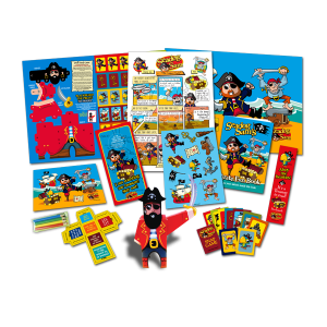 Mega Pirate Theme Activity Pack [Box of 40]
