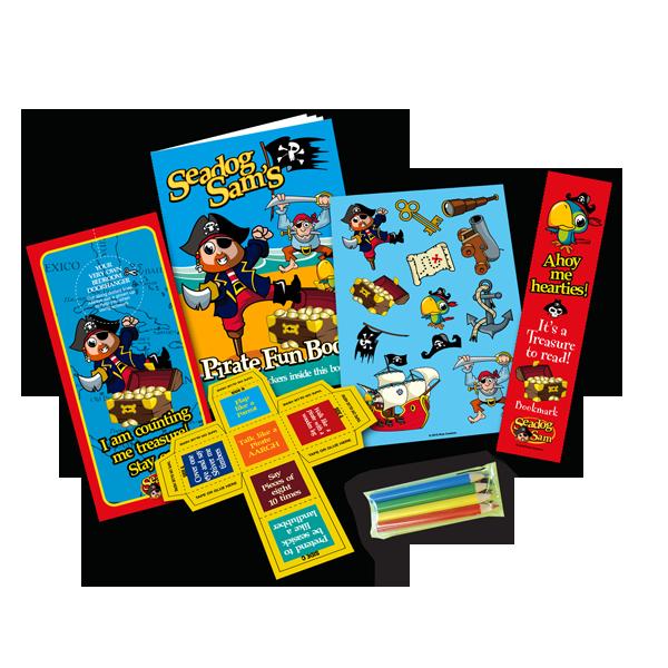 Mini Pirate Theme Activity Pack [Single Pack]