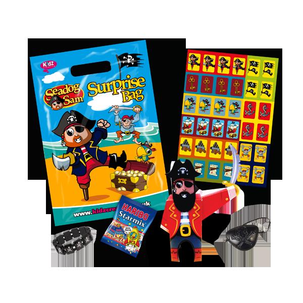 Pirate Theme Surprise Party Bag [Single Bag]