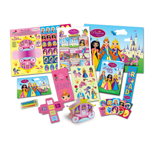 Mega Princess Theme Activity Pack [Box of 10]