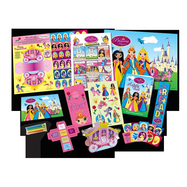 Mega Princess Theme Activity Pack [Single Pack]