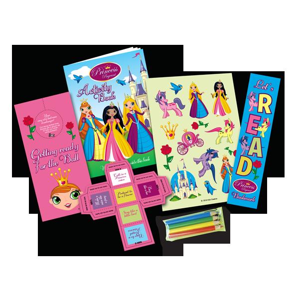 Mini Princess Theme Activity Pack [Single Pack]