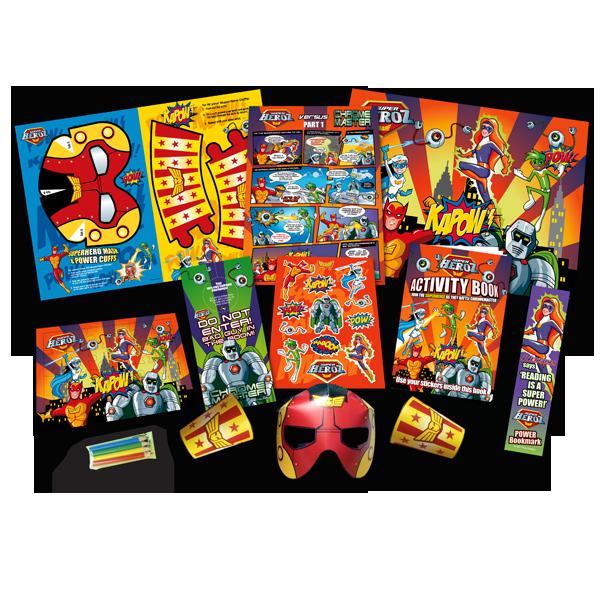 Mega Superhero Theme Activity Pack [Single Pack]