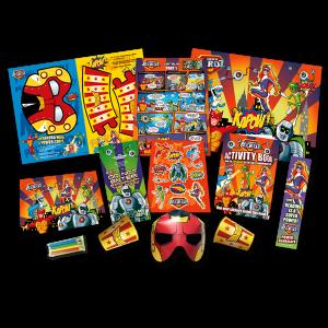 Mega Superhero Theme Activity Pack [Box of 40]