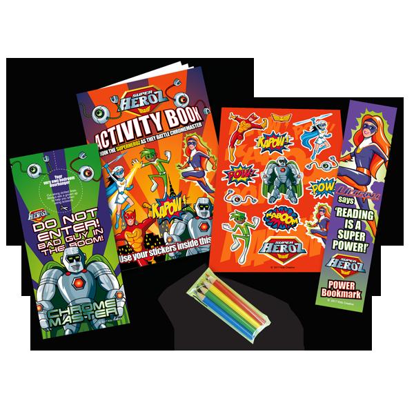 Mini Superhero Theme Activity Pack [Single Pack]