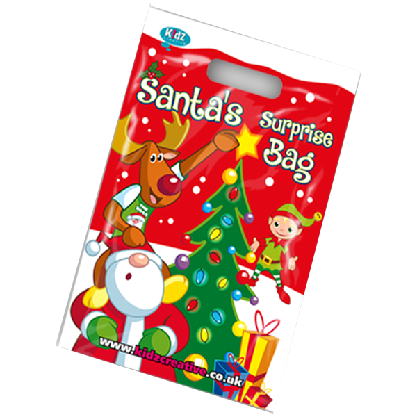 Christmas Theme Surprise Party Bag [Box of 10]